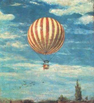Szinyei_Merse,_Pál_-_Balloon_(1882)